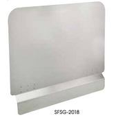 "20.5"" x 18"" Stainless Steel Fryer Splash Guard Winco SFSG-2018 NEW #9950"
