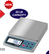 Digital Scale 22 lb. Capacity Winco SCAL-D22 NEW #9960