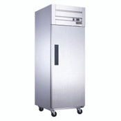 NEW 1 Door Refrigerator NSF Cooler Solid Stainless Steel Dukers D28AR #2018