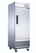 NEW 1 Door Freezer NSF Reach In Solid Stainless Steel Dukers D28F #2028