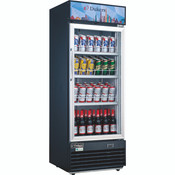 "NEW 1 Glass Door 29"" Refrigerator Merchandiser Display Cooler NSF Dukers DSM-19R #2220"