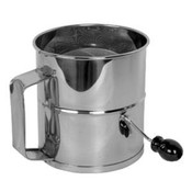 NEW 8 Cup Stainless Steel Flour Sifter Thunder Group SLFS008 #3563