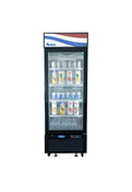 "NEW 1 Glass Door 27"" Refrigerator Merchandiser Cooler NSF Atosa MCF8722GR #2349"
