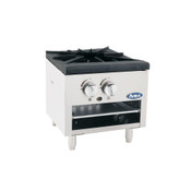"NEW 18"" Stock Pot Low Profile Stove High BTU Range Atosa ATSP-18-1L #2361"