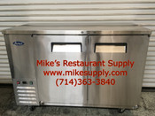 """NEW 48"""" Back Bar Cooler Stainless Steel Refrigerator NSF Atosa MBB48 #2355"""
