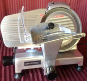 """NEW 9"""" Manual Electric Deli Slicer Machine Meat Cheese UNIWORLD SL-9E #1310"""