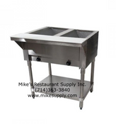NEW 2 Well Electric Steam Table GSW ST-2WOE-120 NSF/ETL #2967