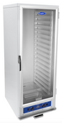 NEW Insulated Heated Cabinet Warmer For 18 Pans  LED Display Clear Door 120V Atosa ATHC-18 #2665