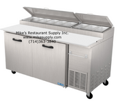 "NEW 67"" Refrigerated Pizza Prep Table NSF 2 Door Pro-Kold PPT-67-11 #3216"