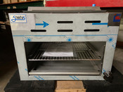 "NEW 24"" Infrared Cheese Melter Horizontal Gas Broiler Stratus SCM-24 #3275"