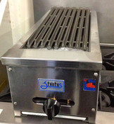 "NEW 12"" Snack Size Gas Radiant Char Broiler Grill Stratus SSRB-12 #3278"