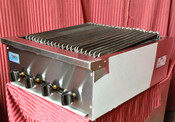 "NEW 24"" Snack Size Radiant Gas Char Broiler Grill Stratus SSRB-24 #3280"