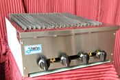 "NEW 24"" Snack Size Radiant Char Broiler 18"" Cooking Depth Stratus SSRB-24 #3280"
