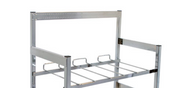 "NEW 28"" BIB Riser & Wall Bracket for Flex Rack System McCanns 15-2899 #3425"
