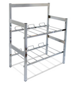 "NEW 28"" BIB 2 Shelf w/ Riser Flex Rack System McCanns 15-2902 Soda Syrup #3426"