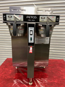 Coffee Brewer Fetco CBS Extractor CBS-52H15 Twin 1.5 Gallon Machine #4182