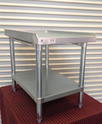 NEW 18 x 30 Equipment Stand Stainless Steel Top NSF #2083