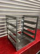 5 Tray Stainless Steel Refrigerator Freezer Rack NSF SSP Inc. #4895
