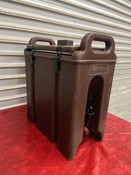 2.5 Gallon Cambro Insulated Hot Cold Drink Dispenser Beverage 250 LCD #4985
