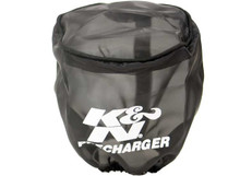 K&N Air Filter Wrap/Pre-Charger for Round Straight Pod Style Air Filters 22-8011PK