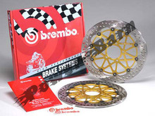 Brembo HP (HPK) Full Floating Brake Rotor Kit for Mondial