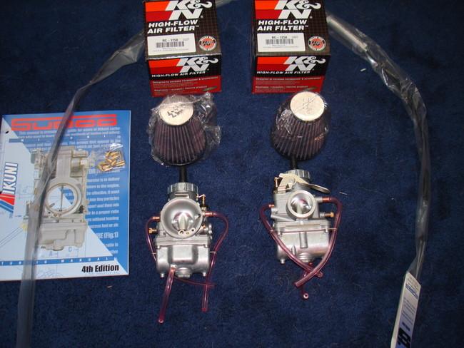 Mikuni VM30 Carburetor Kit for 1974-1977 Honda CB360, CJ360, CL360