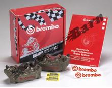 Brembo HP Billet Caliper Kit Standard Finish 100MM Spacing