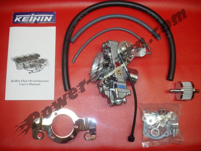 Harley-Davidson Sportster and Buell Keihin FCR39 Carburetor Kit