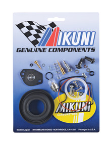 This Mikuni BSR33 carburetor rebuild kits contain all the necessary genuine Mikuni components to rebuild your OEM Yamaha Mikuni BSR33 carburetor.  Includes genuine gaskets, o-rings, screws, and clips however does not contain any jetting. ...