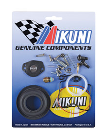 This Mikuni BSR33-01 carburetor rebuild kits contain all the necessary genuine Mikuni components to rebuild your OEM Cam-Am or John Deere Mikuni BSR33 carburetor.  Includes genuine gaskets, o-rings, screws, and clips however does not contain...