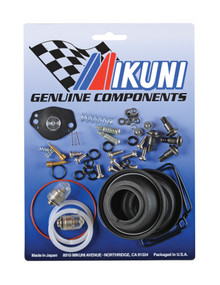 This Mikuni BSR33-41 carburetor rebuild kits contain all the necessary genuine Mikuni components to rebuild your OEM Yamaha Raptor 660 Mikuni BSR33 carburetor set, one kit services two carburetors.  Includes genuine gaskets, o-rings, screws,...