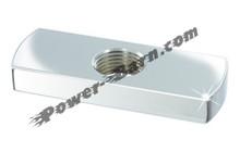 Pingel A1902C-B Blank Adapter Plate - Female Thread 3/8 NPT no mounting holes