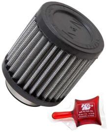 K&N Pod / Kart Round Straight Air Filter RU-0155