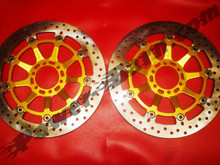 Brembo OEM  Full Floating Special Offset Brake Rotor Kit for Ducati 748R and 998R