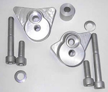 LSL Crash Pad Frame Slider Mounting Kits for Aprilia