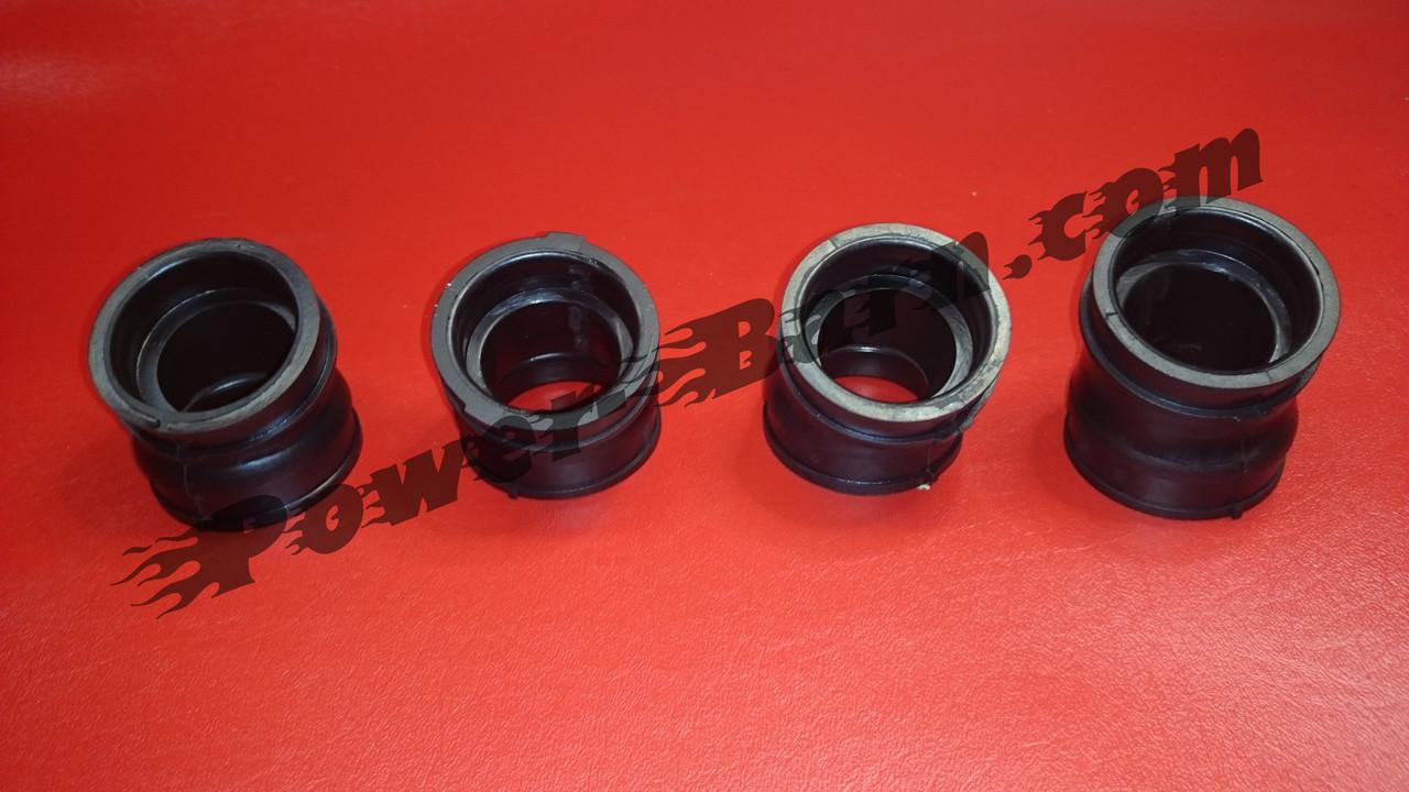 Honda CB 750 Four K0 K1 K2-K6 F1 Intake Rubber Set Incl 8 Clips Carburettor