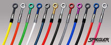 Spiegler High Performance Steel Braided Clutch Line Kits for 2007-2011 Ducati 1098, Ducati 1098S, Ducati 1198, Ducati 1198S
