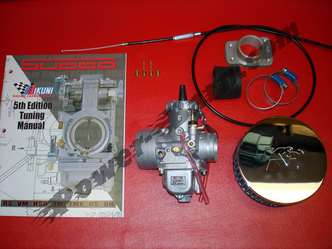 Harley-Davidson Mikuni VM Carburetor Kit for Sportster, Shovelhead,  Panhead, and Knucklehead