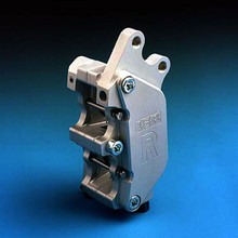 ISR Axial Mount Front Brake 4 Piston CNC Billet Calipers for Harley-Davidson with Brembo 40MM Bolt Pattern