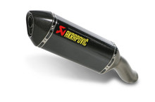 Akrapovic Titanium GP Style Megaphone Slip-On Open Exhaust System for 2009-2012 Kawasaki ZX6R