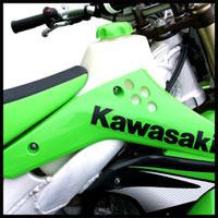 Clarke 2.8GAL Fuel Tank for Kawasaki KX250F Off-Road Motorcycle