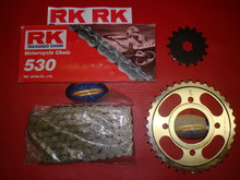 Chain and Sprocket Kit for 1974-1985 KZ400 and KZ440