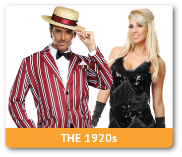 Adult Gangster And Flapper Costumes