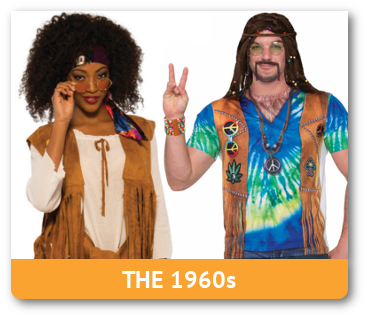 Adult 60s Hippie Costumes