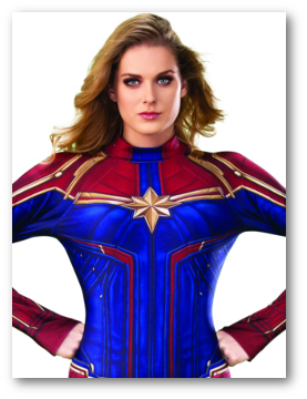Women's Captain Marvel Costumes