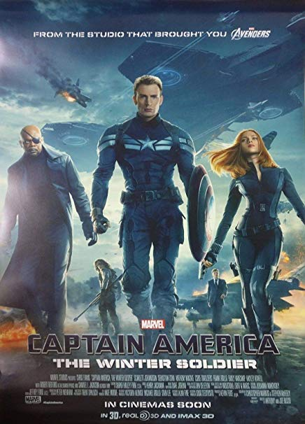 Captain America The Winter Soilder Movie Poster