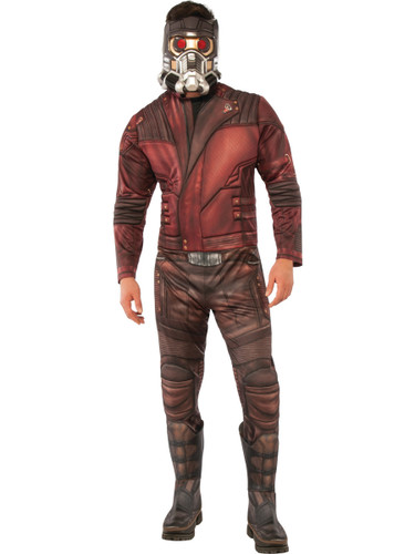 Adult Mens Deluxe Guardians Of The Galaxy Vol. 2 Starlord Costume