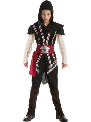 Assassin's Creed II Ezio Auditore Assassin Boys Costume