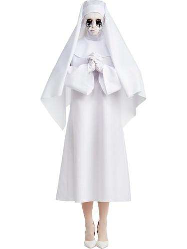 American Horror Story Asylum Weeping Nun Womens Costume