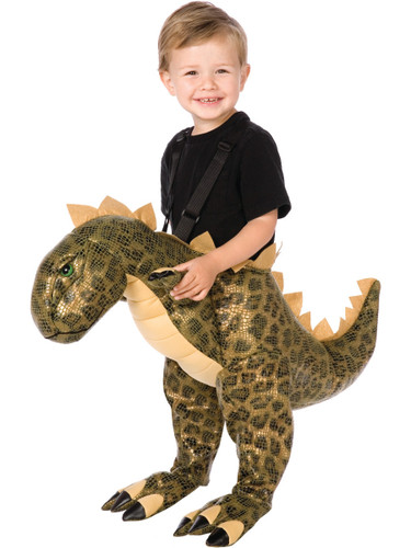 Ride On Dinosaur Jurassic Dino Rider Toddler Costume One Size